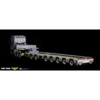 SPMT Multiaxle trailer 7 axle