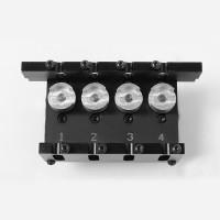 4 port control valve for Dozers