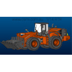 Wheel loader RTR HITACHI