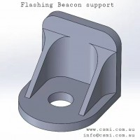 Beacon bracket AL-CNC -L
