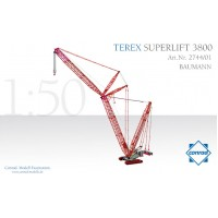Terex Superlift 3800 Crawler Crane Baumann