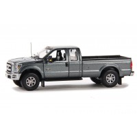 Ford F250 pickup w/Super cab 8' bed gray