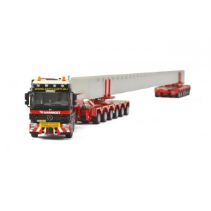 Mercedes-Benz MP3 L  Module Trailer 6+6 axle with concrete Beam