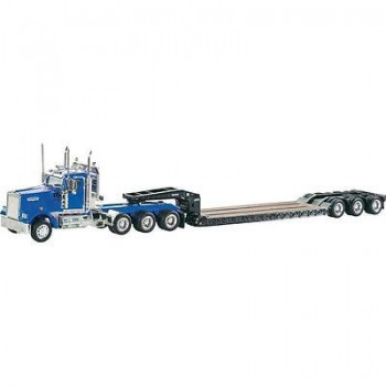 Kenworth W900 with lowboy