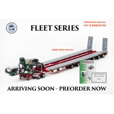 MEMBREY TRAILER 7X8 STEERABLE WITH 2X8 DOLLY