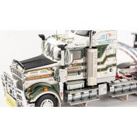 SOLD OUT Kenworth T909 Prime Mover Drake 2x8 Dolly 4x8 Swing Trailer Membrey Rowan
