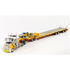 SOLD OUT Kenworth T909 Prime Mover Drake 2x8 Dolly 4x8 Swing Trailer Andys earth movers