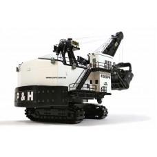 P&H 4100 XPC mining shovel White and Black