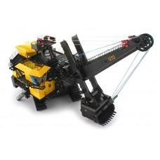 P&H 4100 XPC mining shovel w/ working LED lights