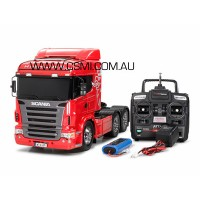 SCANIA 6 X 4 + Radio + MFU + BATTERY + CHARGER + Beacons