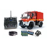 1:12 Unimog Feuerwehr 2,4 G 100 % RTR