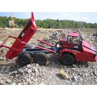 Articulated dump truck 6 x 4