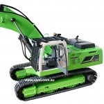 VLV RC Excavator Free attachments