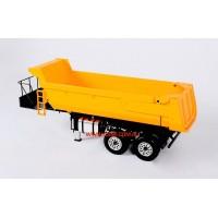 Half pipe hydraulic trailer