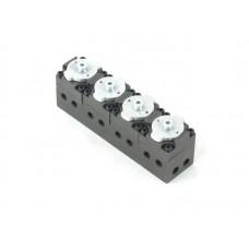 4 port control valve