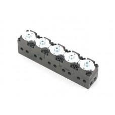 5 port control valve
