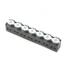 7 port control valve