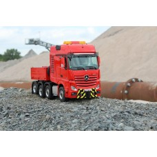 Mercedes Actros II gigaspace four axle truck tractor SLT 