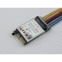 Servonaut M224 dual electronic speed controller for models 1:14 or 1:16 scale. Made in Germany by tematik.