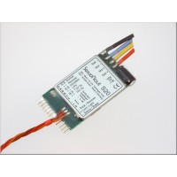 Servonaut S20  electronic speed controller for truck models 1:14 or 1:16 scale. Made in Germany by tematik.