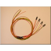 Servonaut L3H LED rear cable harness set 7V. Made in Germany by tematik.