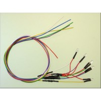 Servonaut L3V LED front cable harness set 7V. Made in Germany by tematik.