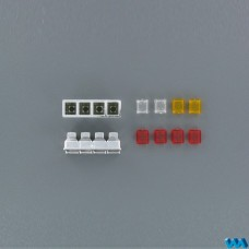 4 Chamber tail light housing