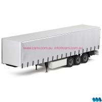 Tri axle curtain side trailer
