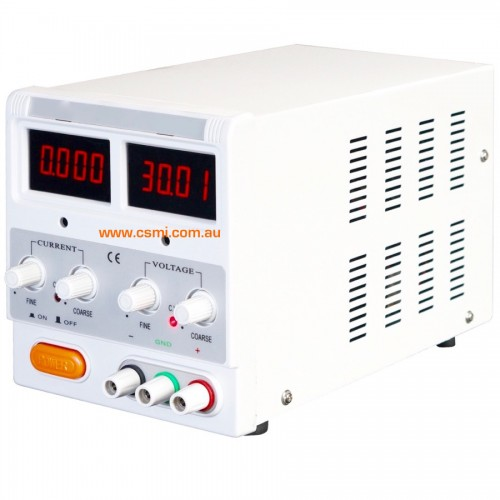 Variable DC power supply module
